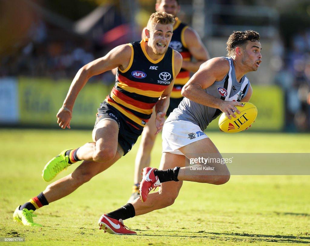 Port Adelaide v Adelaide - JLT Community Series : News Photo