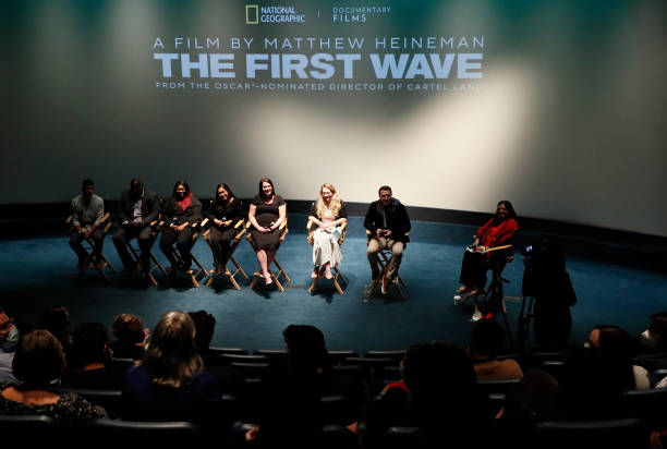 DC: Washington, DC Premiere of National Geographic Documentary Films' THE FIRST WAVE