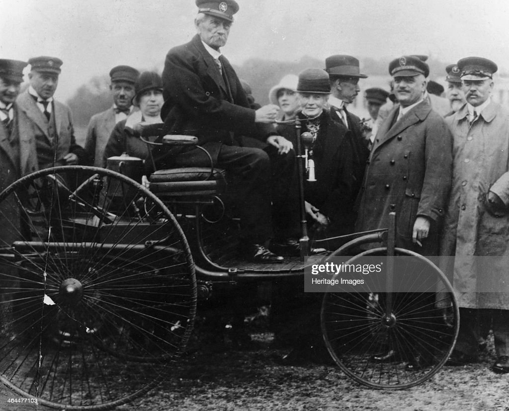 Karl Benz in his Benz motor car, 1886. Pictures | Getty Images
