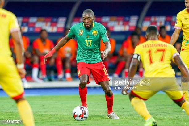 Karl Brillant Toko Ekambi of Cameroon during the African Cup of Nations match between Benin and Cameroon on July 2nd, 2019. Photo : Ulrik Pedersen /...