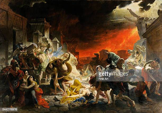 Karl Briullov The Last Day of Pompeii 183033 oil on canvas 4565 x 651 cm State Russian Museum St Petersburg Russia
