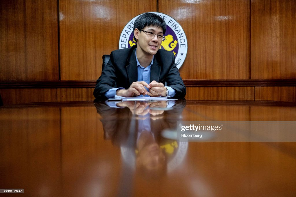 Karl Chua, the Philippines' finance undersecretary, speaks during an interview in Manila, the Philippines, on Monday, Aug. 14, 2017. The Philippines risks slower growth and a credit rating downgrade if lawmakers water down the government's tax reform plan, the finance department has warned. Photographer: Veejay Villafranca/Blooomberg