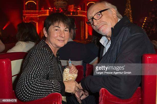 Karl Dall and his wife Barbara attend the 11th Roncalli Christmas Circus at Tempodrom on December 19 2014 in Berlin Germany