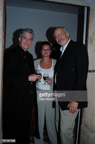 Karl Dall Ilja Richter Freundin Barbara Ferun Feier zum 60 Geburtstag von G u n t h e r E m m e r l i c h Hoftheater Dresden Weißig bei Dresden...