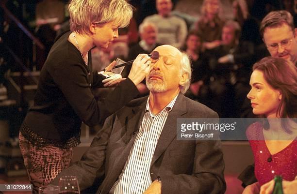 Karl Dall Tochter Janina Dall Visagistin bei der ARD/RBTalkshow III nach 9 Bremen Maske MakeUp