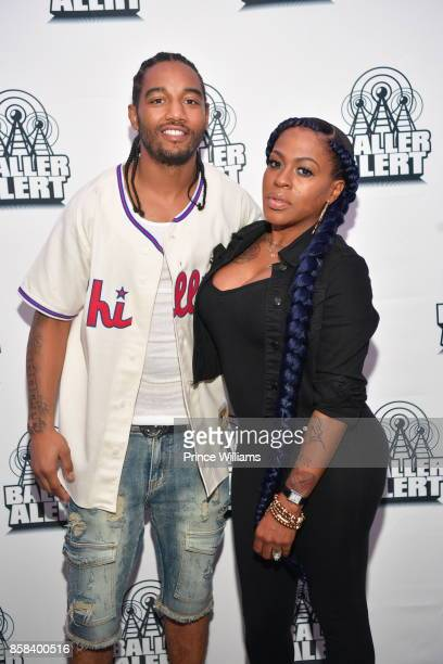 Karl Dargan and Lil Mo attend Baller Alert's Bowl With Baller at Basement Bowl on October 5 2017 in Miami Florida