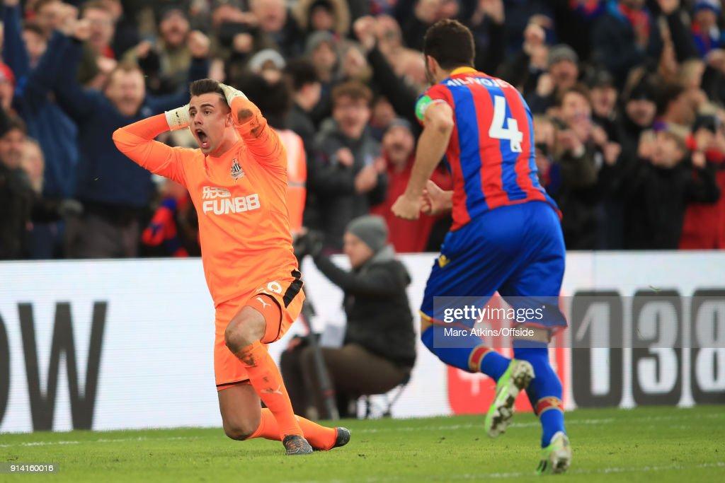 Crystal Palace v Newcastle United - Premier League