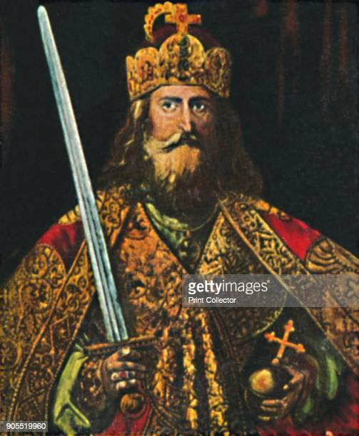 'Karl der Große 17421814' 1934 Charlemagne or Charles the Great Charles I was the King of the Franks from 768 King of the Lombards from 774 and...