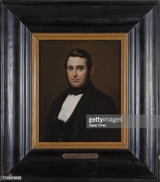 Karl Friedrich Alfred Boser Portrait of Huibert van Rijckevorsel portrait painting footage linen oil painting wood gold plaster Standing rectangular...