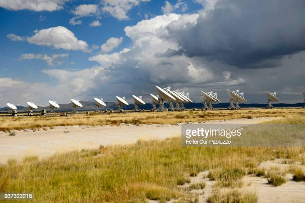 karl g. jansky very large array of usa - national radio astronomy observatory stock pictures, royalty-free photos & images