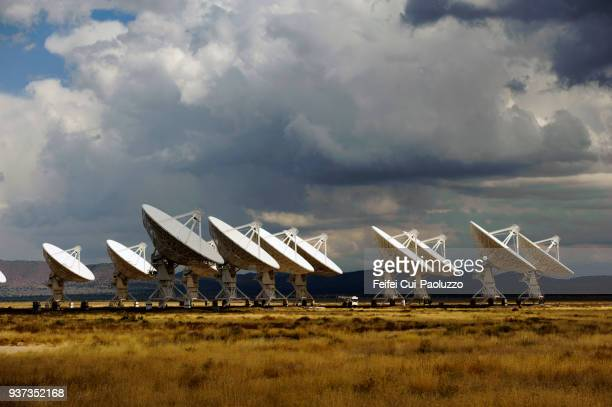 karl g. jansky very large array of usa - photography themes stock pictures, royalty-free photos & images