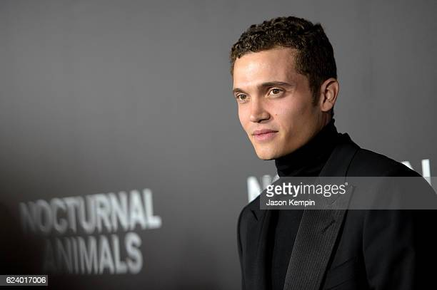 Karl Glusman attends the New York Premiere of Tom Ford's Nocturnal Animals at The Paris Theatre on November 17 2016 in New York City
