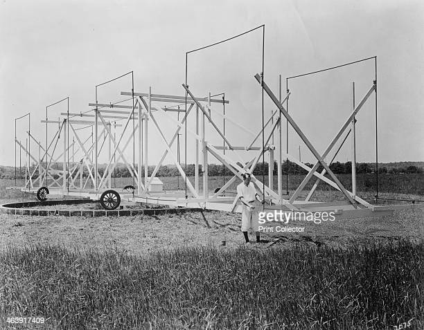 Karl Guthe Jansky American physicist and radio engineer c1940 In 1932 while carrying out research into static that might interfere with voice radio...