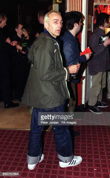 Karl Hyde from the band Underworld at the premiere of the BBC2 documentary Westway To The World in Notting Hill in London The film is about the...