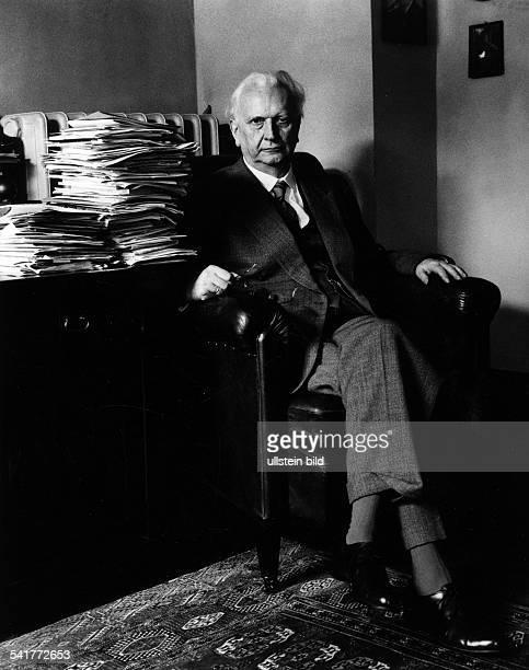 Karl Jaspers *23.02.1883-+Philosoph, D- Porträt- 1960