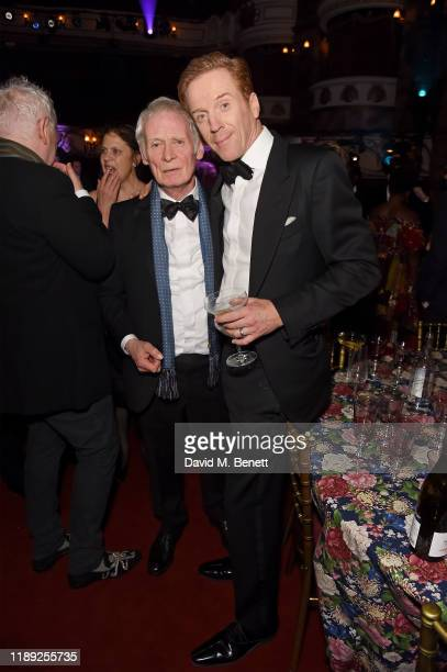 Karl Johnson and Damian Lewis attend the after party of the 65th Evening Standard Theatre Awards In Association With Michael Kors at London Coliseum...