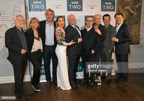 Karl Johnson Sonia Friedman Jim Carter Florence Pugh Sir Richard Eyre Colin Callender Emma Thompson Andrew Scott and Anthony Calf attend a special...