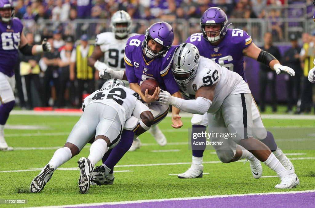 Oakland Raiders v Minnesota Vikings : News Photo