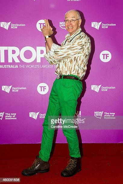 Karl Kruszelnicki at Tropfest 2014 on December 7, 2014 in Sydney, Australia.