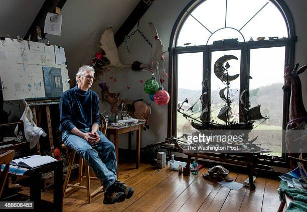 Karl Kuerner III recalls Andrew Wyeth in his studio on April 7 in Chadds Ford PA Kuerner donated his family's land to the Brandywine Conservancy The...