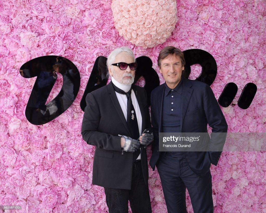 Dior Homme: Photocall - Paris Fashion Week - Menswear Spring/Summer 2019 : News Photo