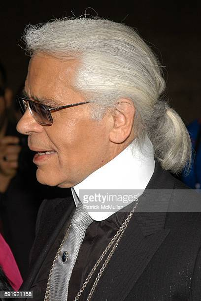3084bd8db84 Karl Lagerfeld attends FENDI 80th ANNIVERSARY All Hallow s Eve Party hosted  by KARL LAGERFELD at 25