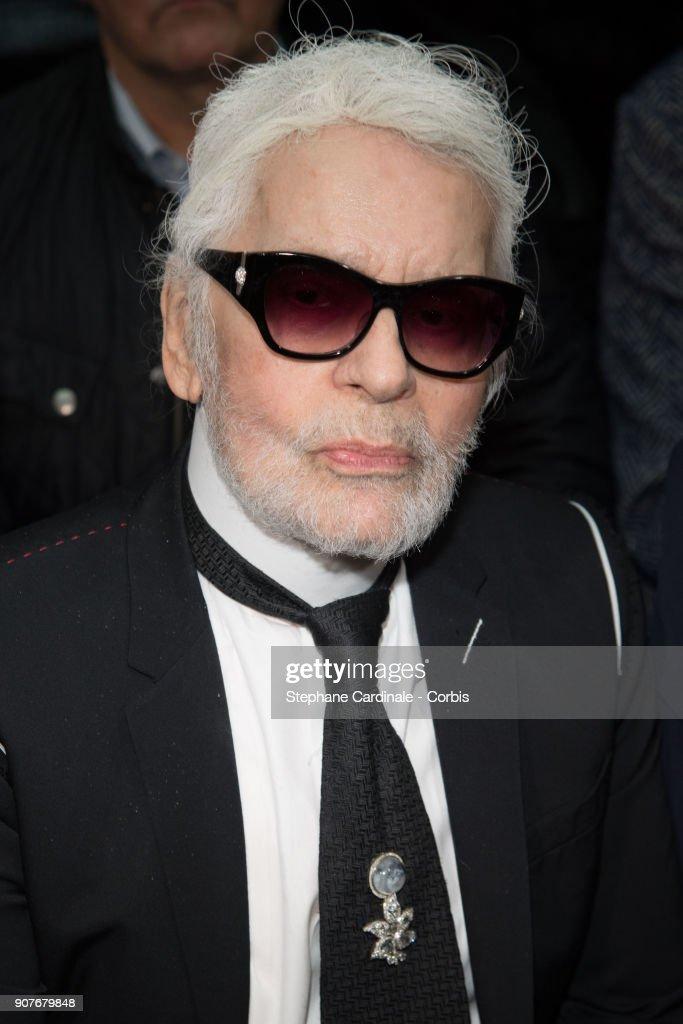 Dior Homme : Front Row - Paris Fashion Week - Menswear Fall Winter 2018/2019 : News Photo