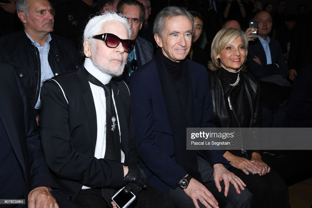 Dior Homme : Front Row - Paris Fashion Week - Menswear F/W 2018-2019 : News Photo
