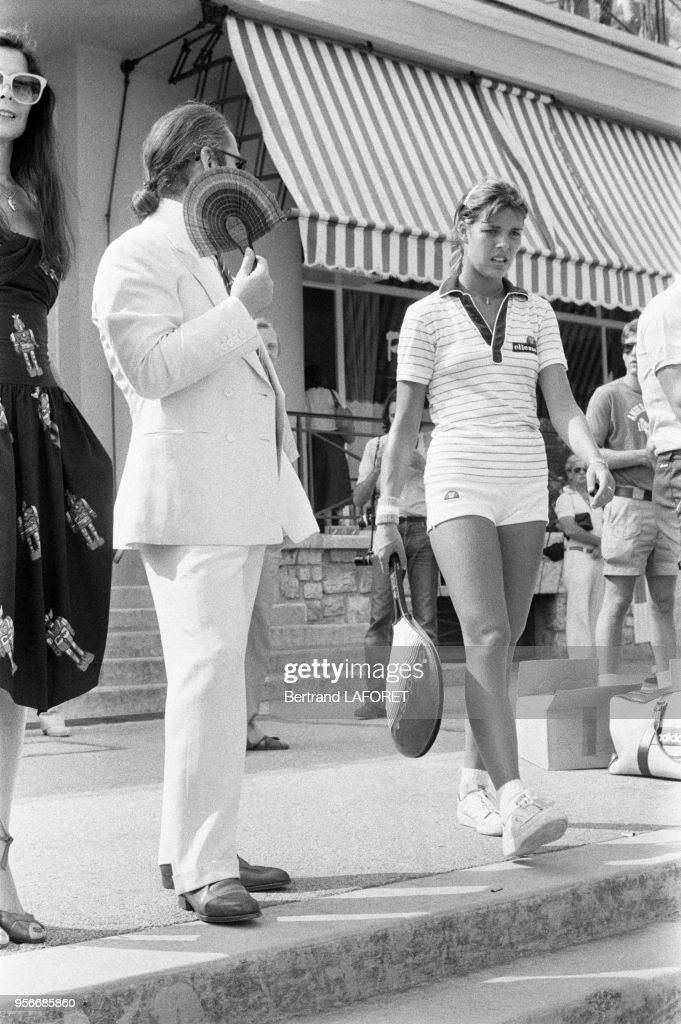 Karl Lagerfeld et Caroline de Monaco en 1979 : News Photo