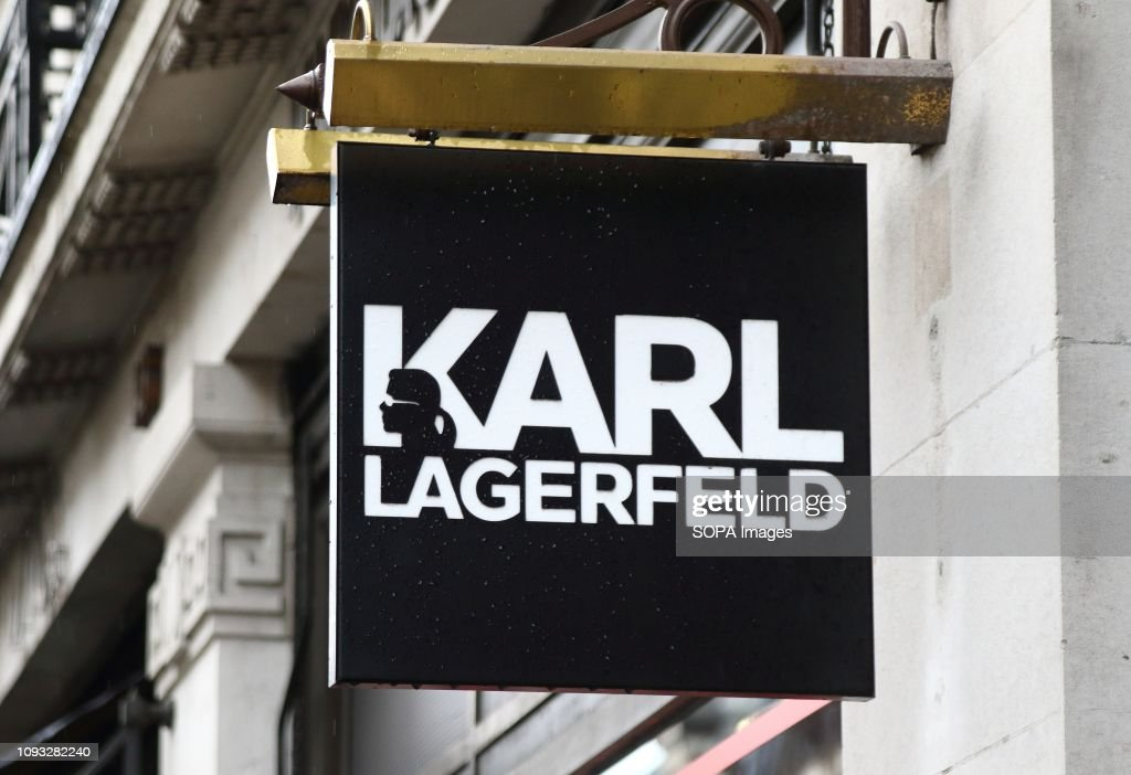 Karl Lagerfeld Store And Brand Logo Seen In London News Photo