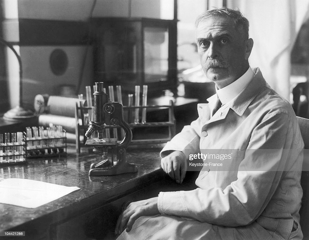 Karl Landsteiner 1930 : News Photo