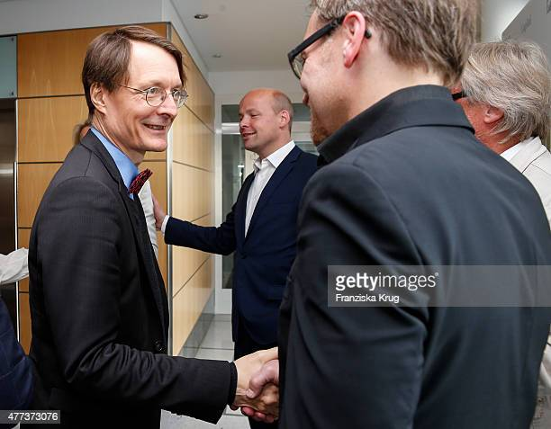 Karl Lauterbach attends the STERN And CAPITAL Summer Party on June 16 2015 in Berlin Germany