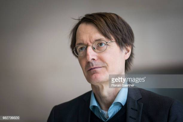 Karl Lauterbach is pictured on March 13, 2018 in Berlin, Germany.