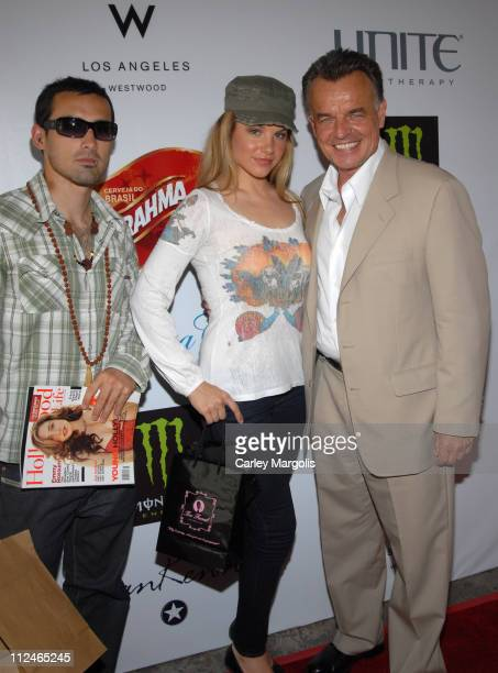 Karl Lindner Charity Shea and Ray Wise during LIVEStyle Entertainment Presents Hollywood Life Lounge at Cabana Club at Cabana Club in Hollywood...