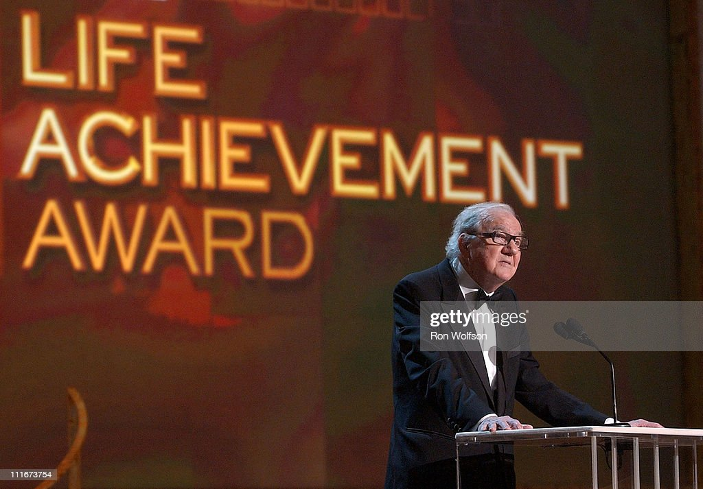 Karl Malden accepts his Lifetime Achievement Award