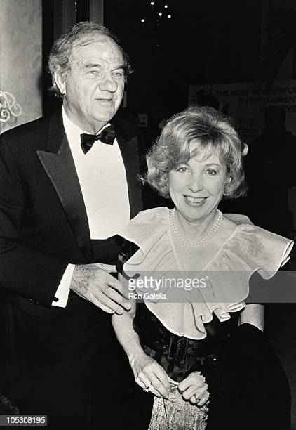 Karl Malden and Mona Graham during 3rd Annual American Cinema Awards May 30 1986 at Beverly Wilshire Hotel in Beverly Hills California United States