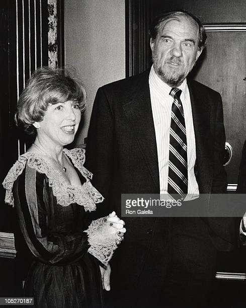 Karl Malden and Mona Graham during The Westwood Shrine Club Honors Marvin Leroy at Beverly Hilton Hotel in Beverly Hills California United States