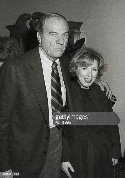 Karl Malden and Mona Graham during Wrap party for The Next Sting at Universal Studios in Universal City California United States