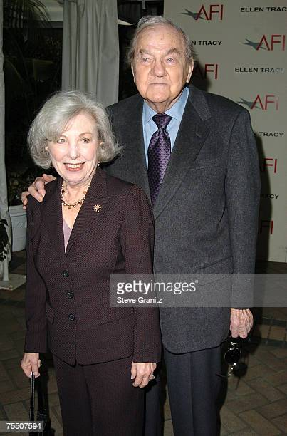 Karl Malden and wife Mona Graham at the Four Seasons in Beverly Hills California