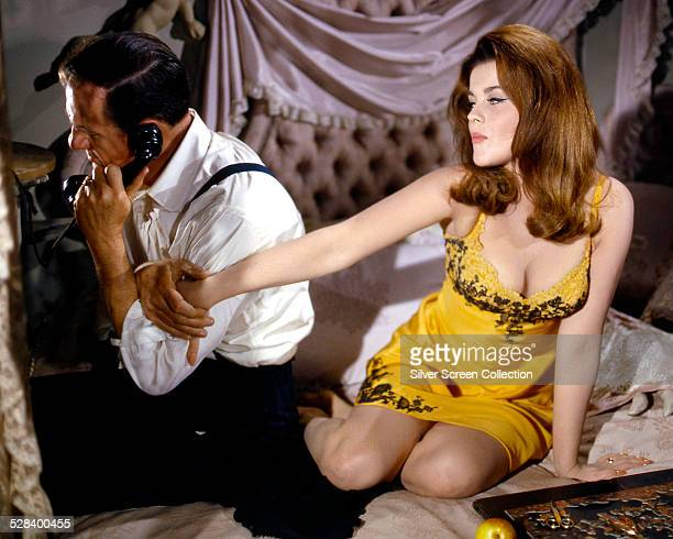 Karl Malden as Shooter and AnnMargret as Melba in 'The Cincinnati Kid' directed by Norman Jewison 1965