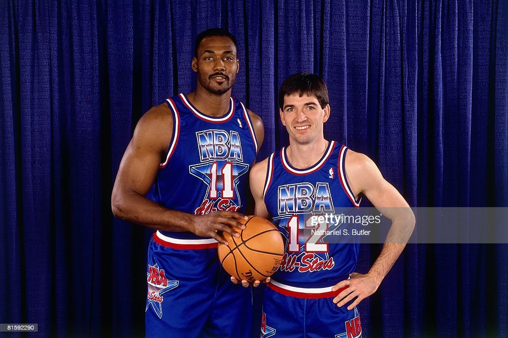 new arrival 1053c c251c Karl Malone and John Stockton of the Western Conference All ...