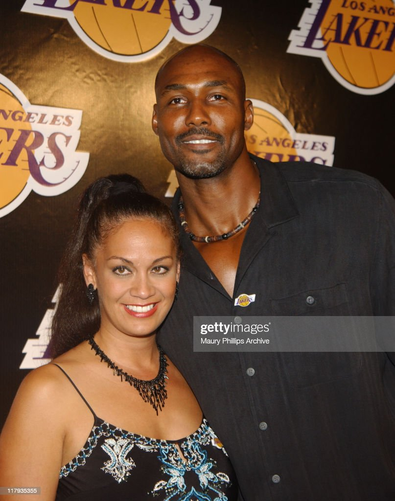 The Los Angeles Lakers Welcome Their Two New All-Star Players Karl Malone and