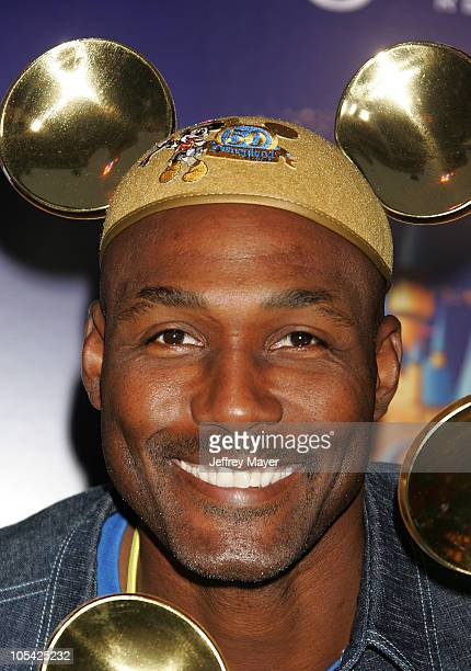Karl Malone during Disneyland 50th Anniversary 'Happiest Homecoming On Earth' Celebration at Disneyland in Anaheim California United States