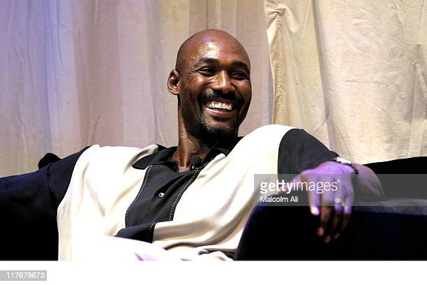 Karl Malone during Shaquille O'Neal Hosts PreSeason Party to Benefit the Lakers Youth Foundation at The New Avalon in Hollywood California United...