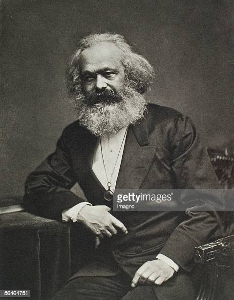 Karl Marx Around 1880 Photography [Karl Marx Um 1880 Photographie]