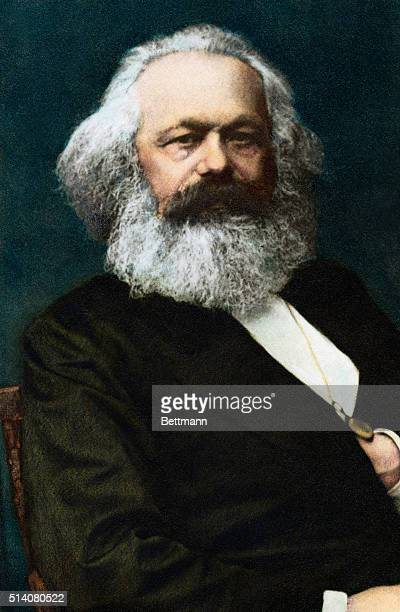 Karl Marx German political philosopher author of Das Kapital