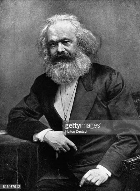 Karl Marx German socialist philospher and author of Das Kapital