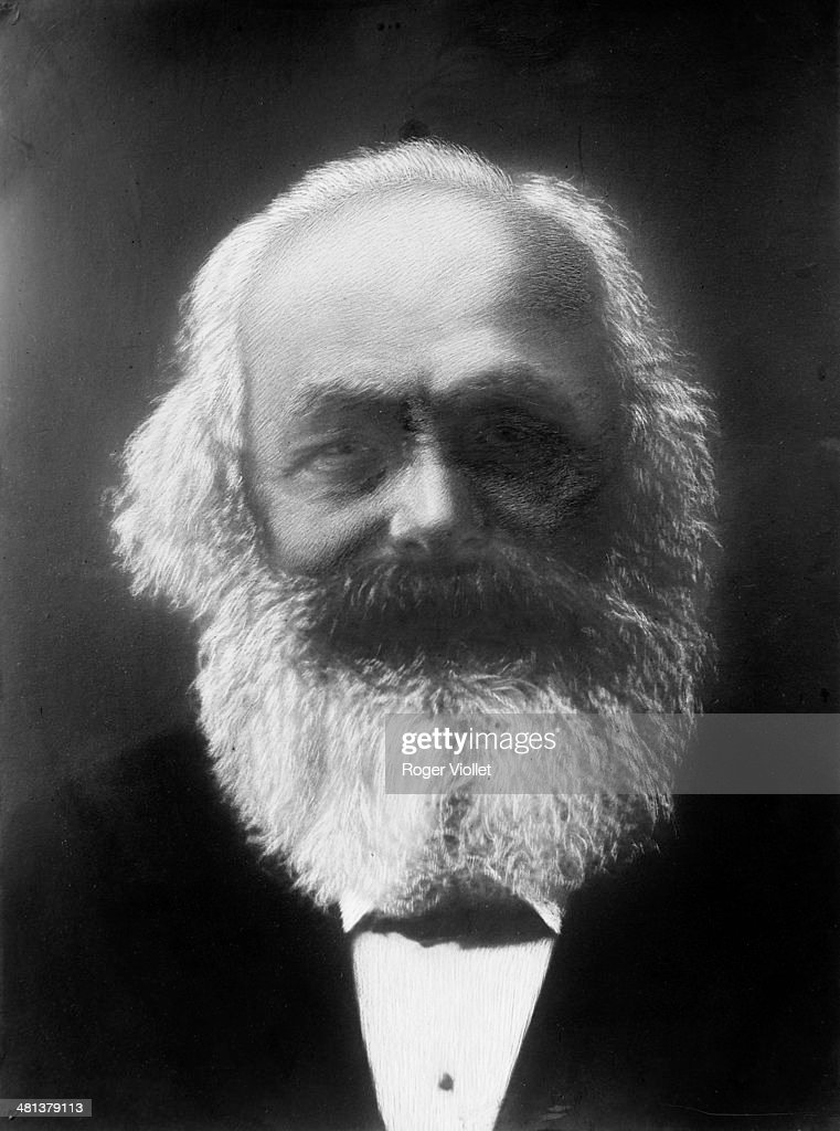 Karl Marx (1818-1883), German theoretician, philosopher and revolutionary.