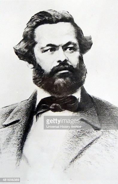 Karl Marx portrait 1848