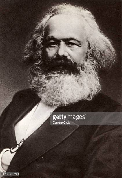 Karl Marx portrait German historian economist revolutionary 18181883